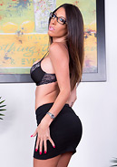 Dava Foxx and Tanlines